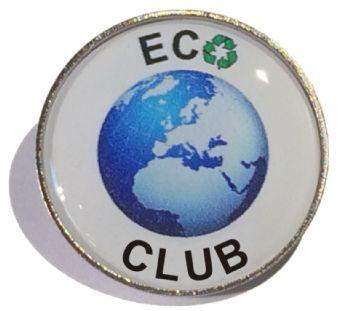 ECO CLUB round badge